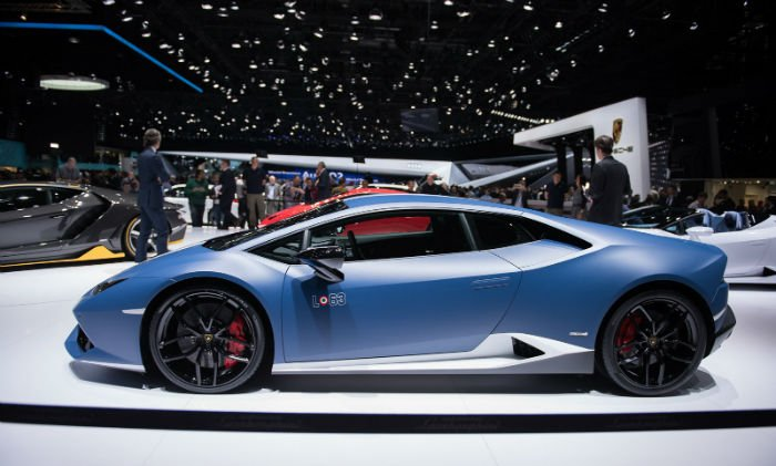 2017 Lamborghini Huracan LP 610-4 Model