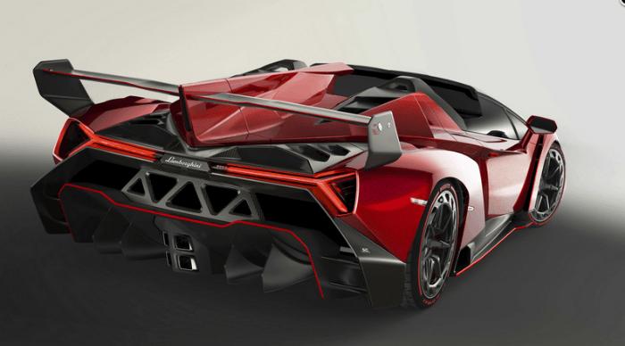 2017 Lamborghini Veneno Exhaust