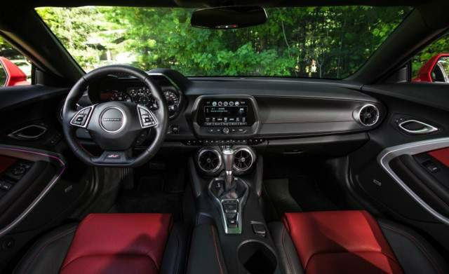 2017 Chevrolet Camaro Interior