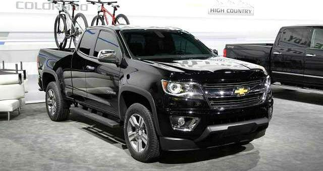 2017 Chevrolet Colorado Changes