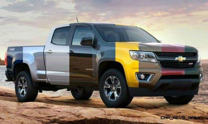 2017 Chevrolet Colorado Colors