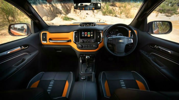 2017 Chevrolet Colorado Xtreme Interior