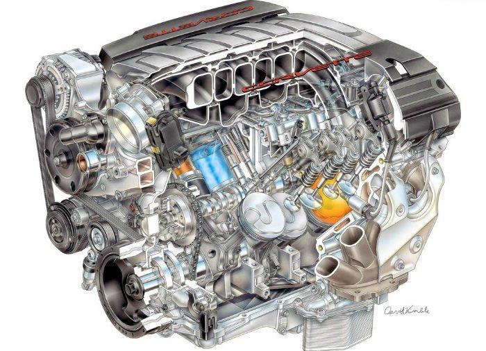2017 Chevrolet Corvette Engine