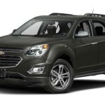 2017 Chevrolet Equinox Black