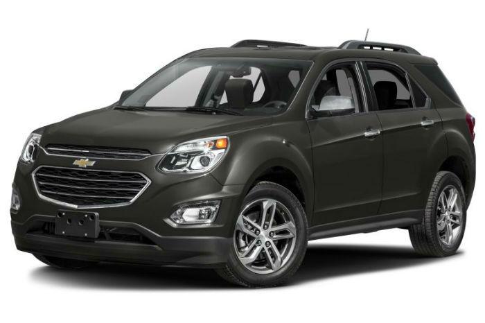 2017 Chevrolet Equinox Black