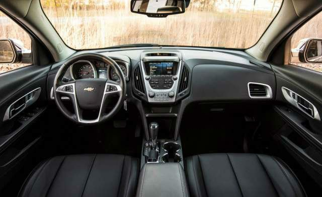 2017 Chevrolet Equinox Interior