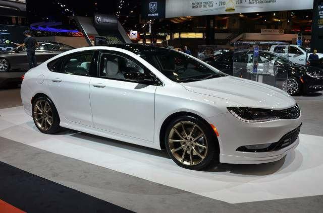 2017 Chrysler 200 MRSP
