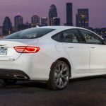 2017 Chrysler 200 White