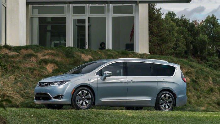 2017 Chrysler Pacifica Hybrid MRSP