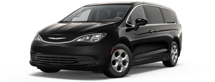 2017 Chrysler Pacifica Limited Black