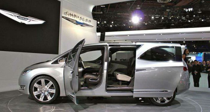 2017 Chrysler Town And Country Minivan