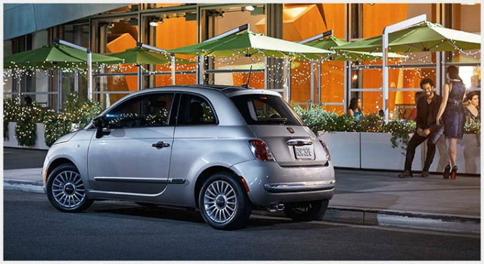 2017 fiat 500 lounge official photos. Black Bedroom Furniture Sets. Home Design Ideas
