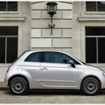 2017 Fiat 500 Lounge Silver