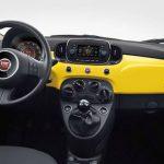 2017 Fiat 500 Pop Dashboard