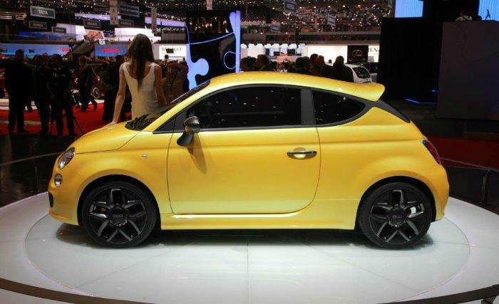 2017 Fiat 500 Pop Model