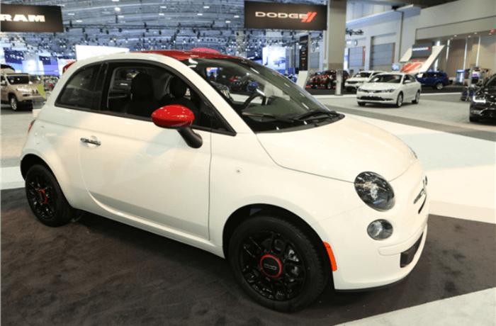 2017 Fiat 500 Sport