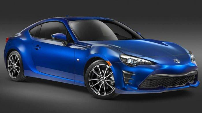 2017 Toyota 86 Colors