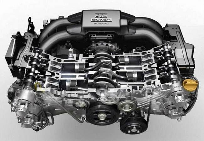 2017 Toyota 86 Engine