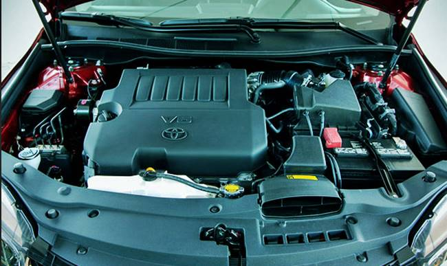 2017 Toyota Camry XLE Engine