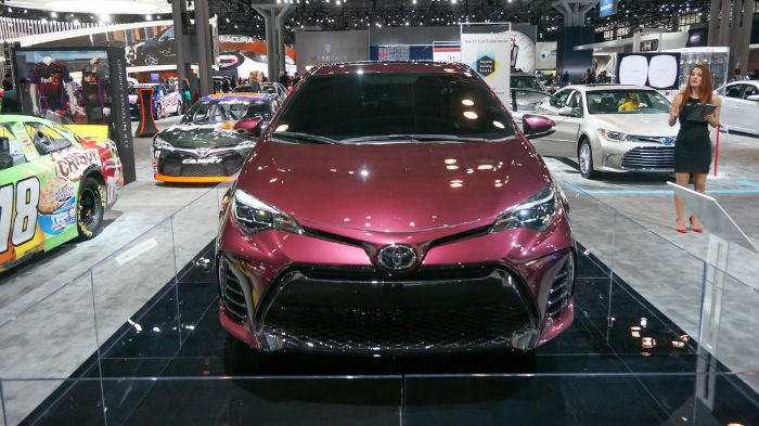 2017 Toyota Corolla XSE Facelift