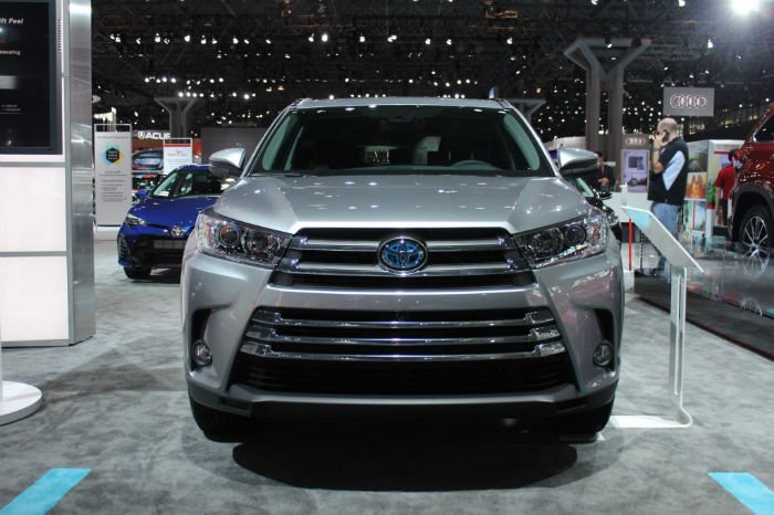 2017 Toyota Highlander Facelift