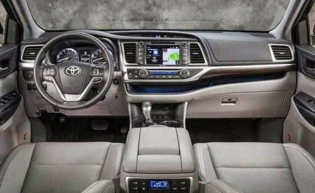 2016 Toyota Highlander Limited Platinum V6 >> 2017 Toyota Highlander Interior