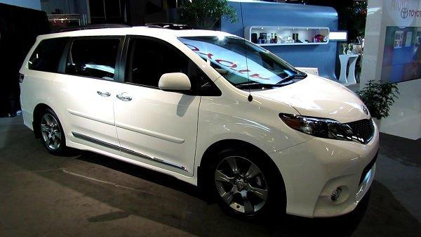 2017 Toyota Sienna White