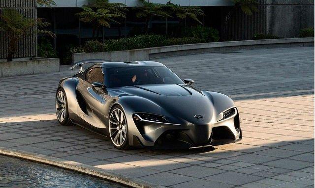 2017 Toyota Supra Black