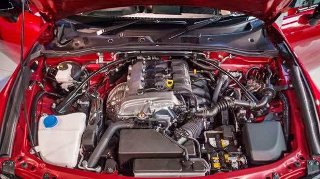 2017 Toyota Supra Engine