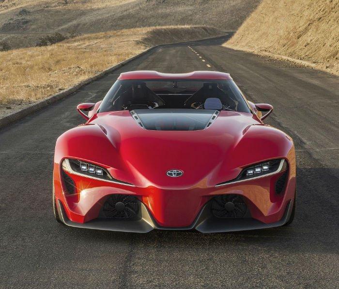 2017 Toyota Supra Facelift