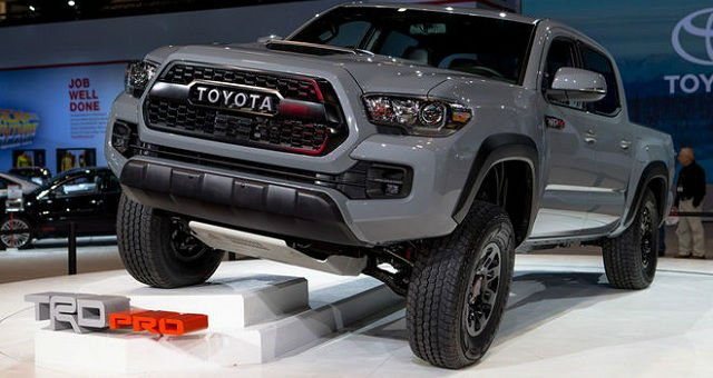 2017 Toyota Tacoma Release