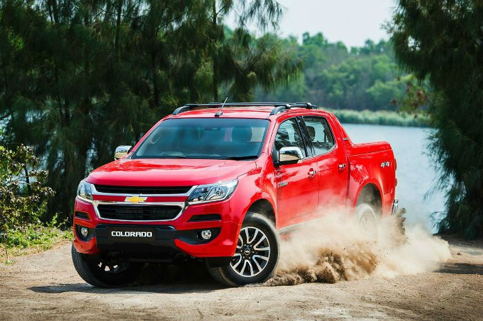 Chevrolet Colorado 2017 Thailand