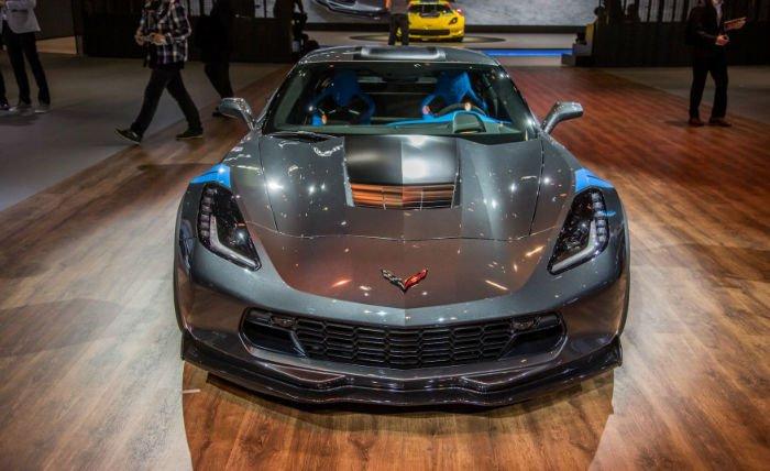 Chevrolet Corvette 2017 Facelift