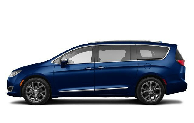 Chrysler Pacifica 2017 Blue