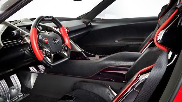 Toyota Supra 2017 Interior