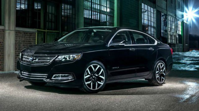 2017 Chevrolet Impala Black