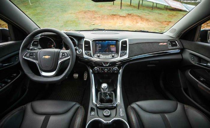 2017 Chevrolet SS Interior