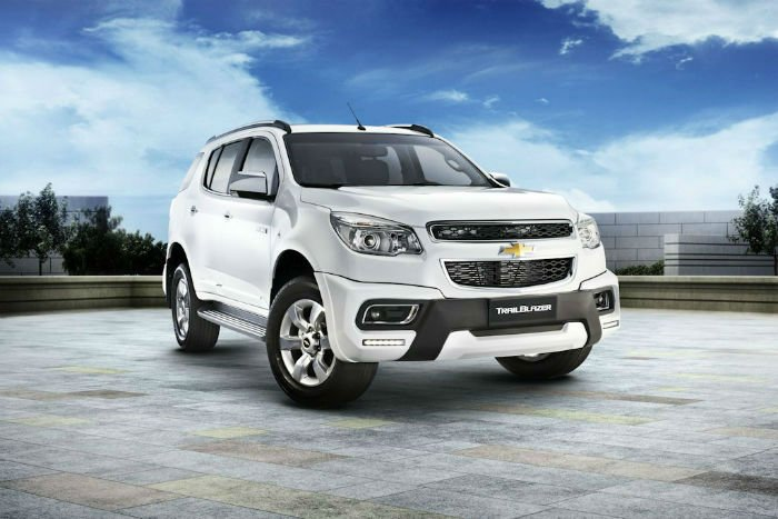 2017 Chevrolet Trailblazer Model