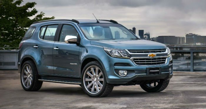 2017 Chevrolet Trailblazer Usa
