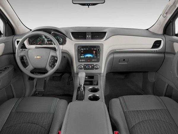 2017 Chevrolet Traverse Interior