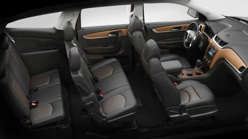 2017 Chevrolet Traverse Seating Capacity 7