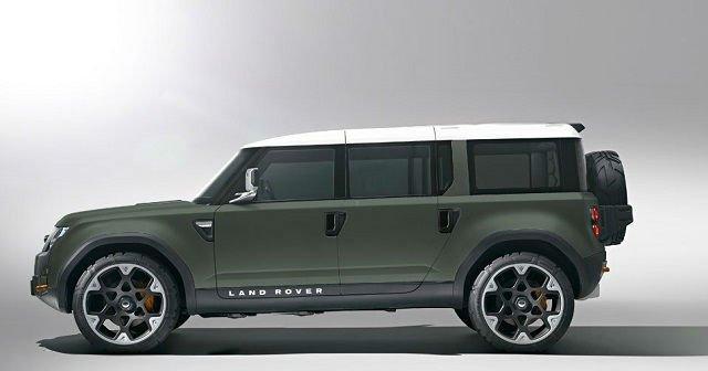 2017 Land Rover Defender 110