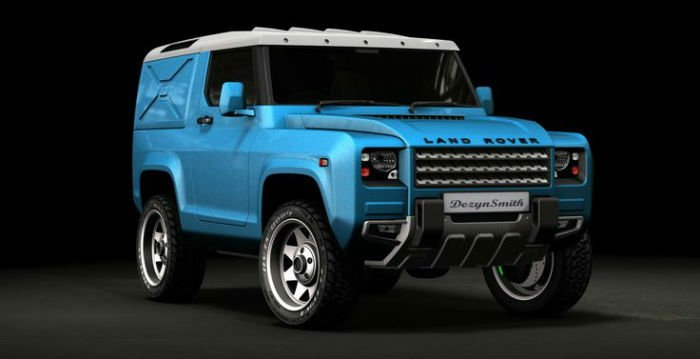 2017 Land Rover Defender Colors