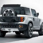 2017 Land Rover Defender Exterior