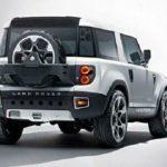 2017 Land Rover Defender Exterior