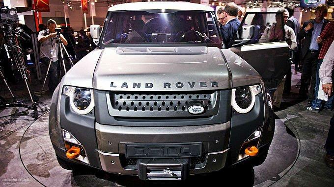 2017 Land Rover Defender Facelift