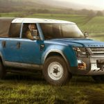2017 Land Rover Defender Pickup Official Photo