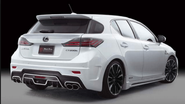 2017 Lexus CT200h Change