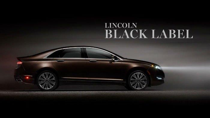 2017 Lincoln Black Label