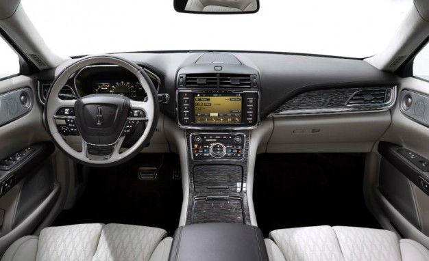 2017 Lincoln Continental Black Label Interior